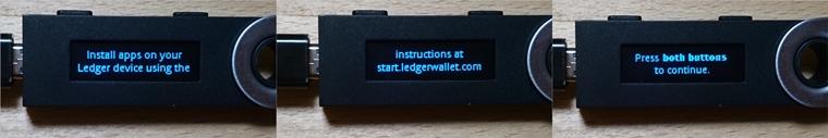 Ledger Nano S(レジャーナノS)のファームウェア1.5.5へのアップデートの仕方