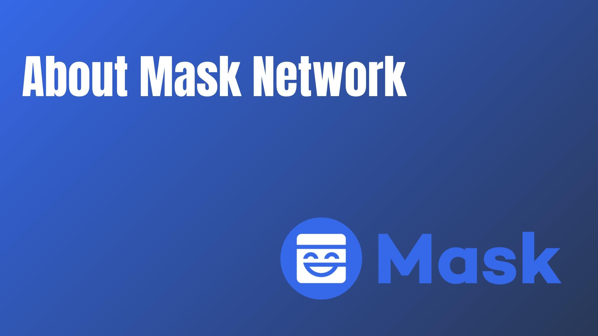 Mask Networkの使い方について解説!Twitter上で参加するITOにも注目